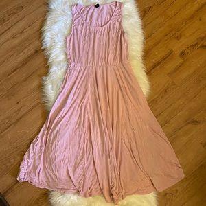 AGNES & DORA ANGELOU VALENTINE PINK DRESS